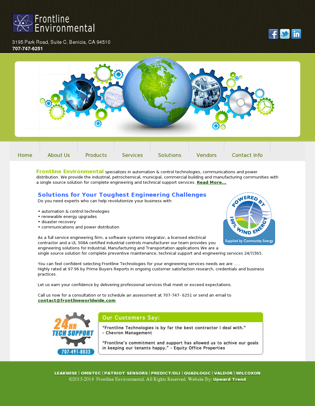 Frontline Environmental Competitors, Revenue and Employees - Owler ...