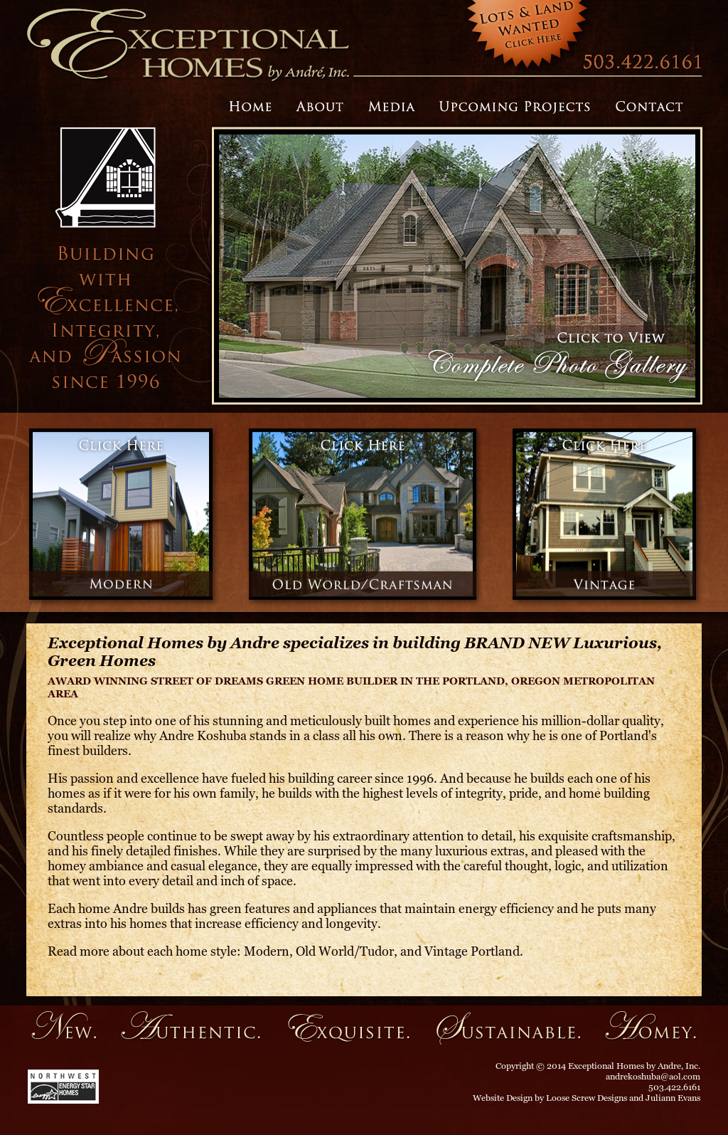 Exceptional Homes By Andre Competitors, Revenue and
