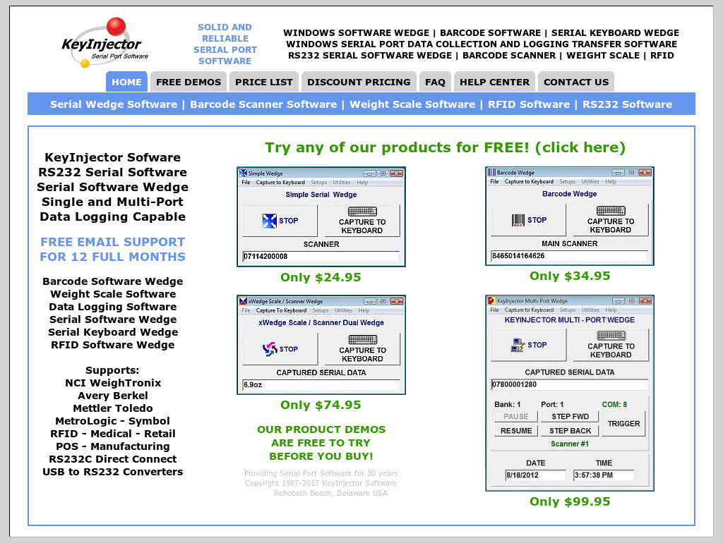 Keyinjector Software Competitors, Revenue and Employees