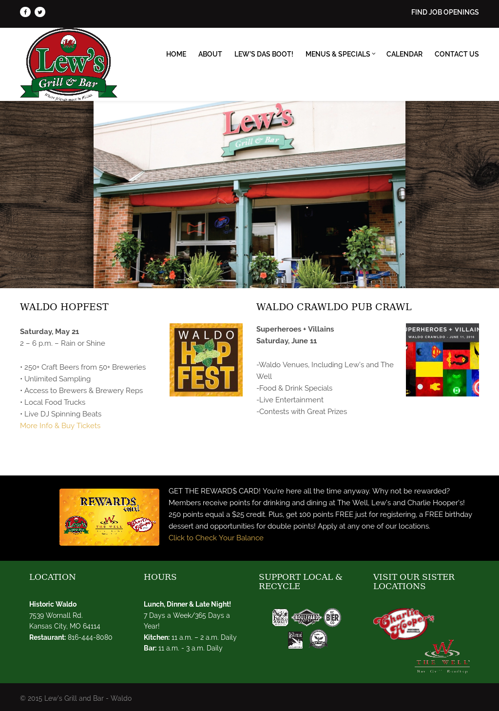 Lew's Grill & Bar Competitors, Revenue and Employees - Owler