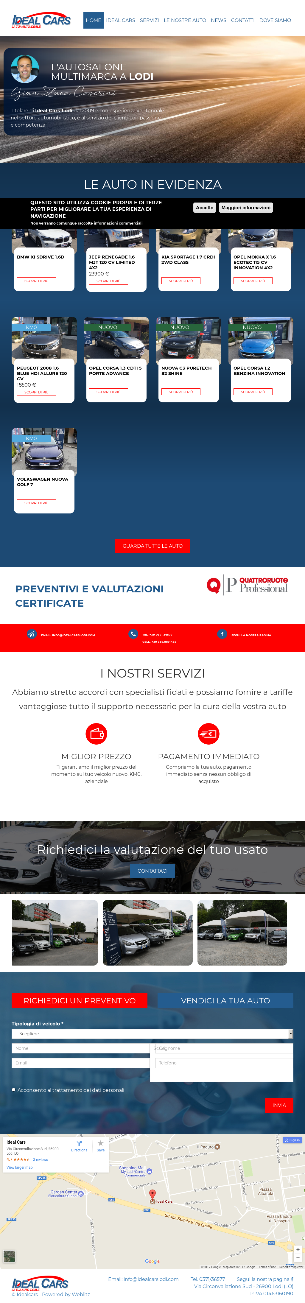 Ideal Cars Di Caserini Gian Luca Competitors, Revenue and Employees ...