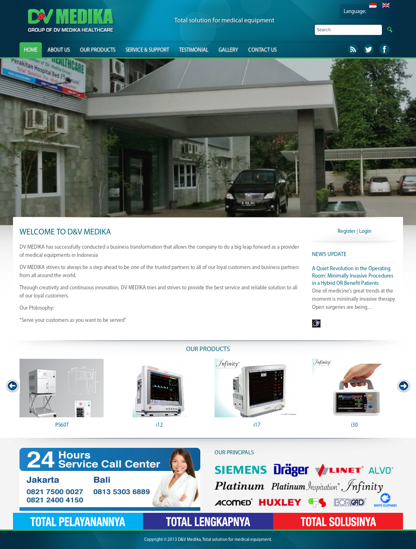 D&v Medika, Total Solution For Medical Equipment Competitors