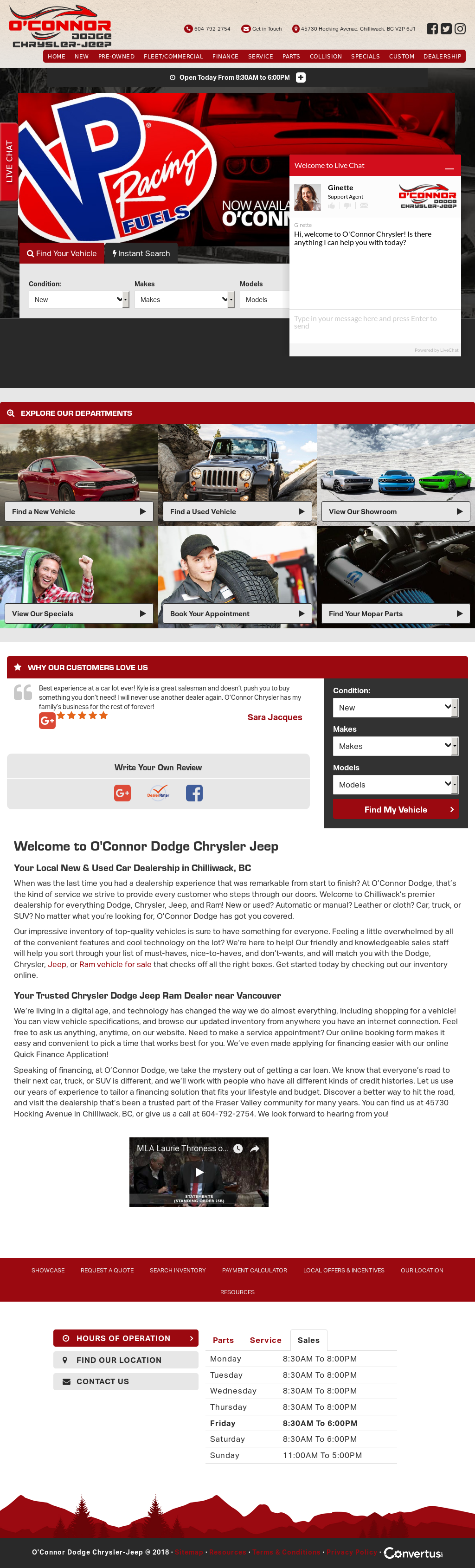 O Connor Chrysler >> O Connor Dodge Chrysler Jeep Competitors Revenue And