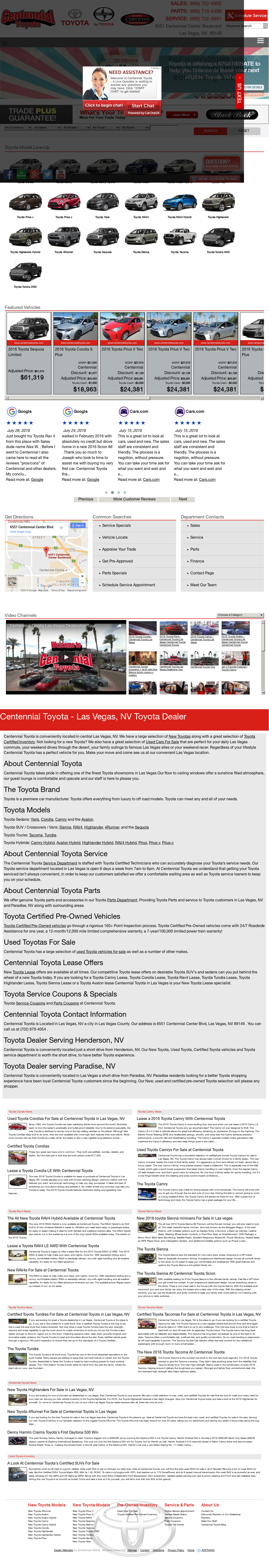 Centennial Toyota Competitors, Revenue And Employees   Owler Company Profile