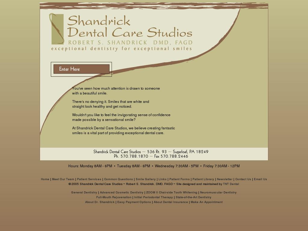 Shandrick Dental Care Studios Competitors, Revenue and
