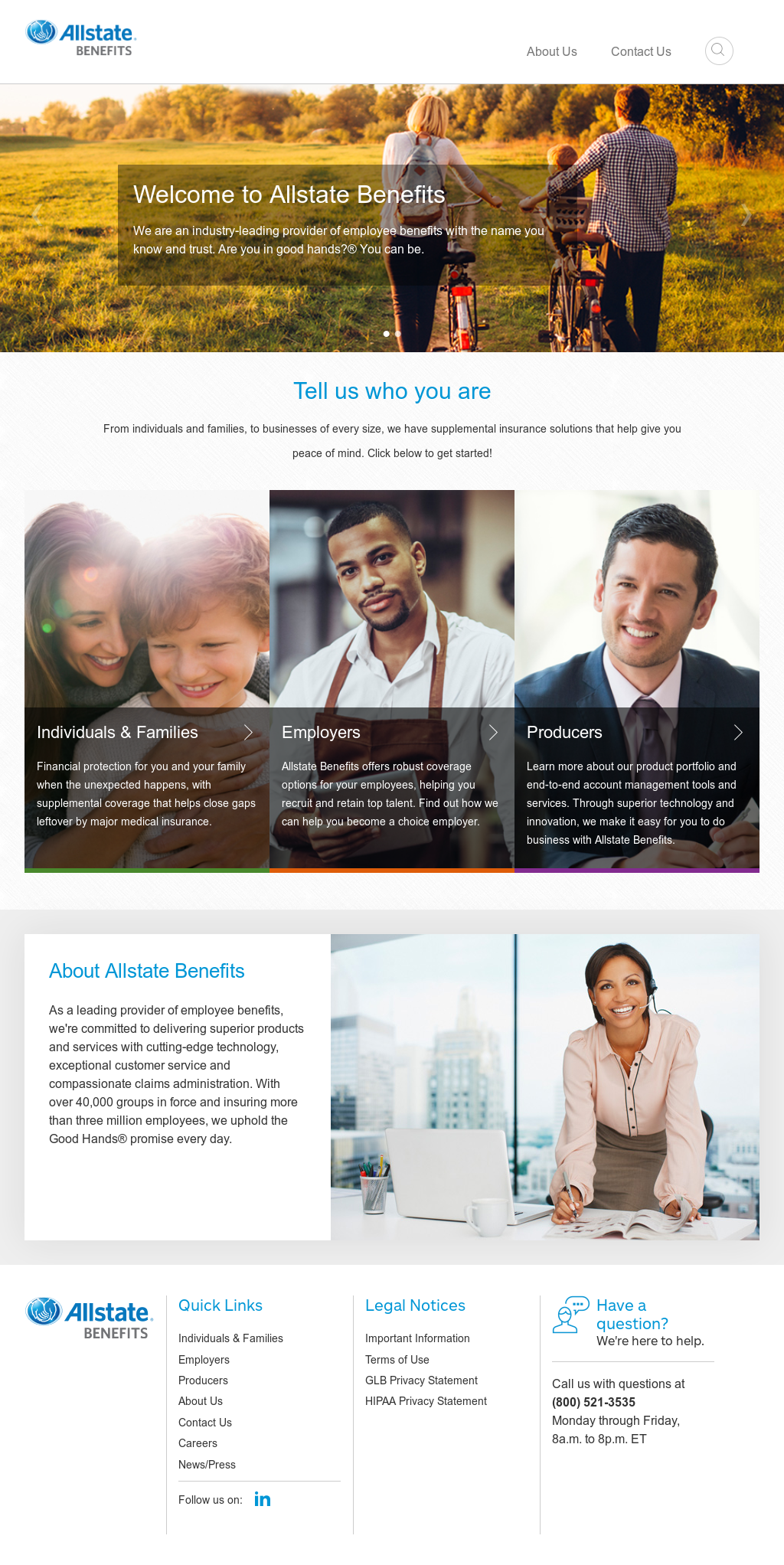 Allstate Employee Benefits >> Allstate Benefits Competitors Revenue And Employees Owler