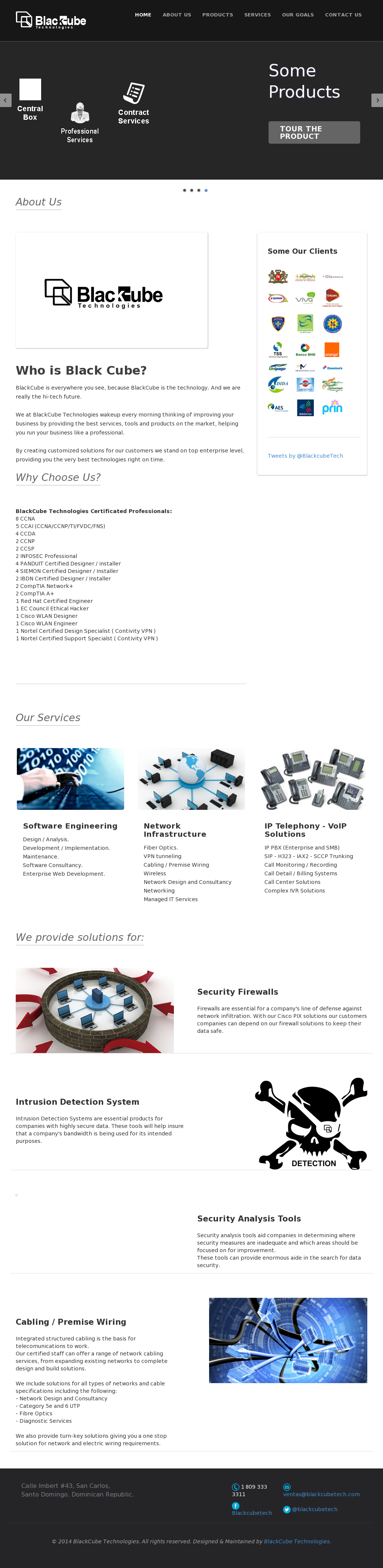 Blackcube Technologies Competitors, Revenue and Employees