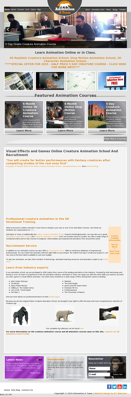 Creature Animation School Animationateam Competitors, Revenue and