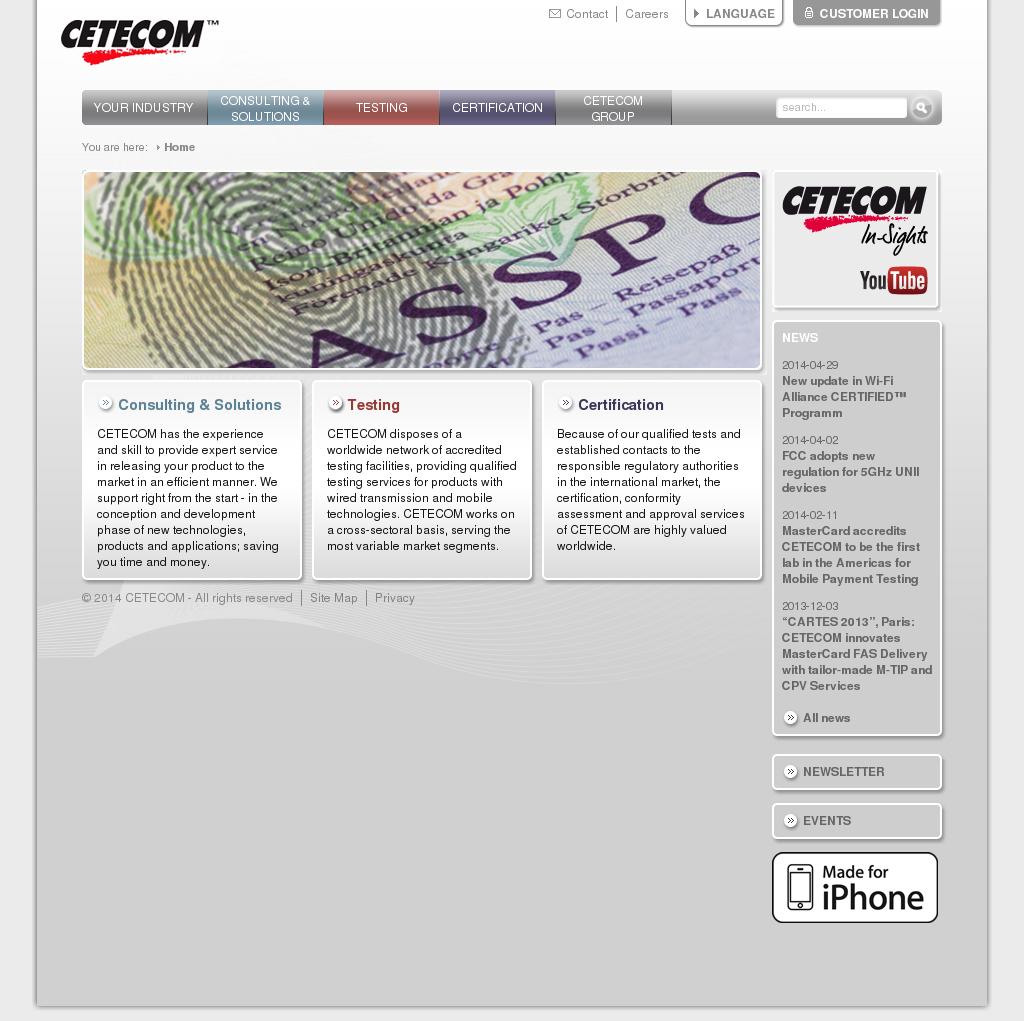 CETECOM Competitors, Revenue and Employees - Owler Company Profile