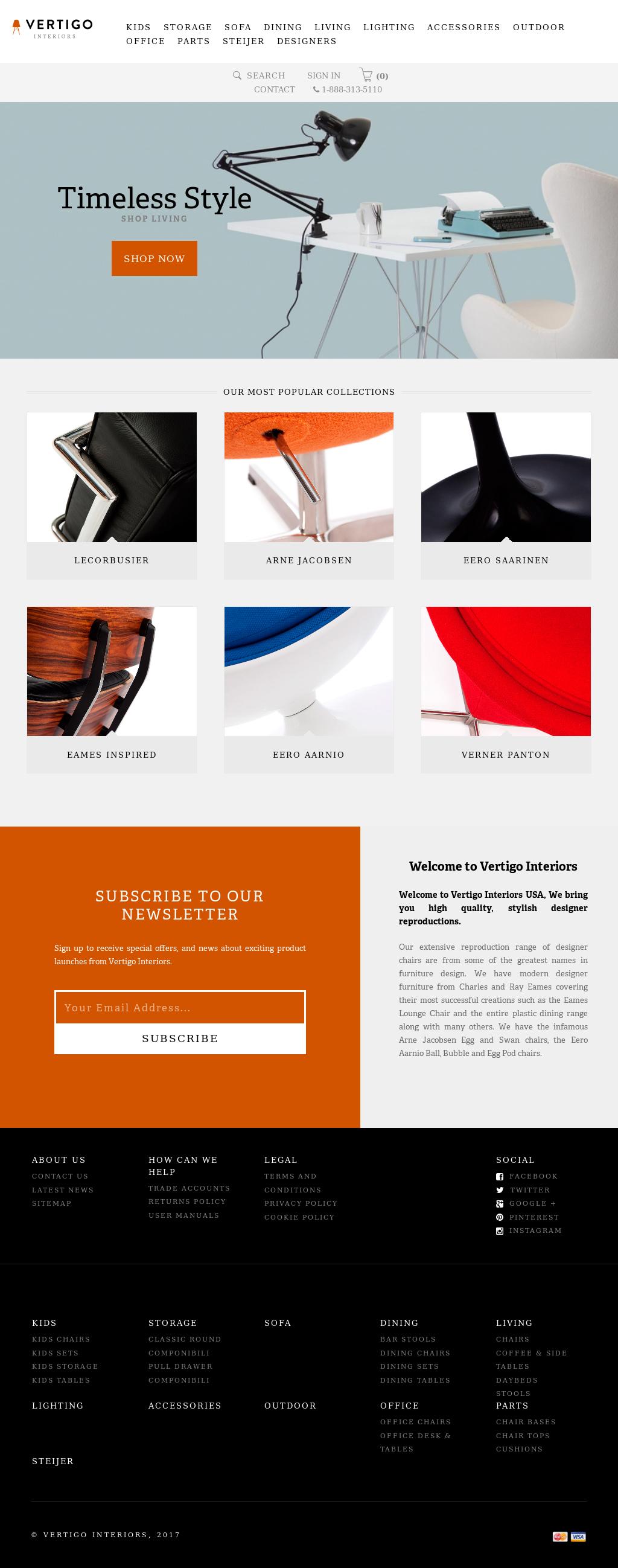 Vertigo Interiors Usa Website History