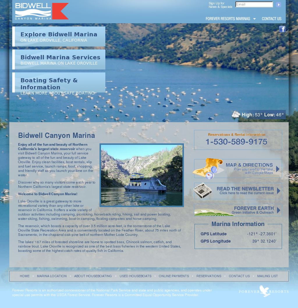 Bidwell Canyon Marina Lake Oroville Competitors Revenue And Employees Owler Company Profile