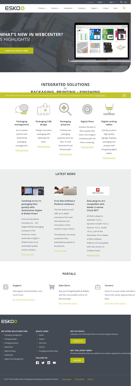 Esko Competitors, Revenue and Employees - Owler Company Profile
