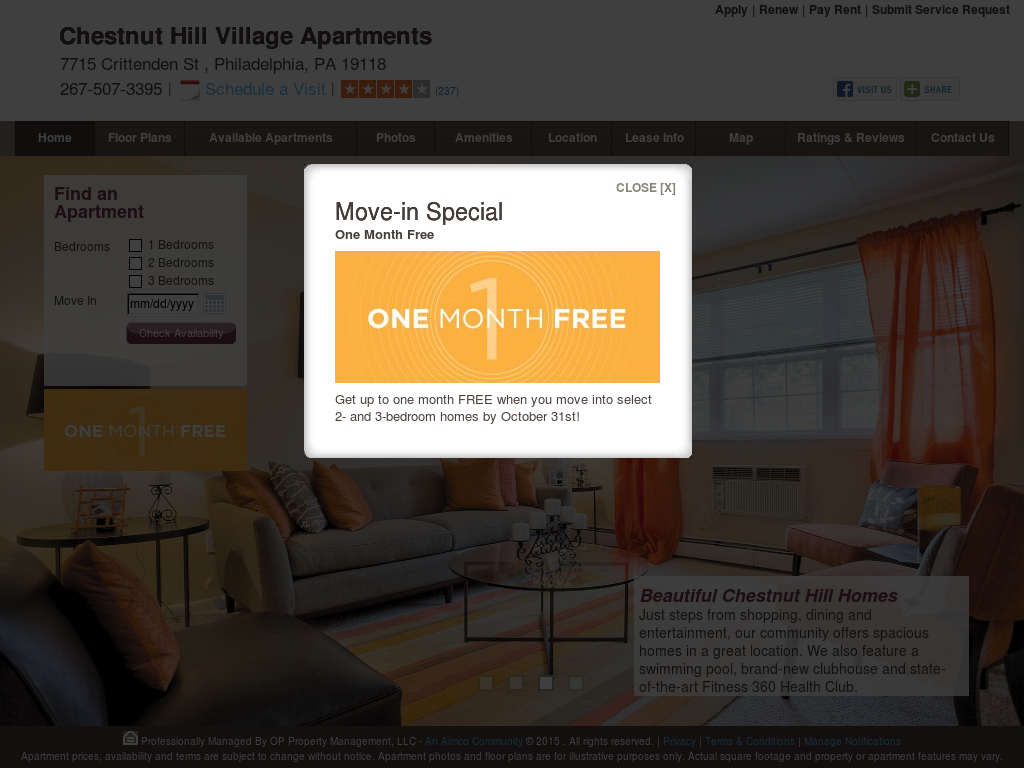 Chestnut Hill Village Apartments Competitors Revenue And Employees