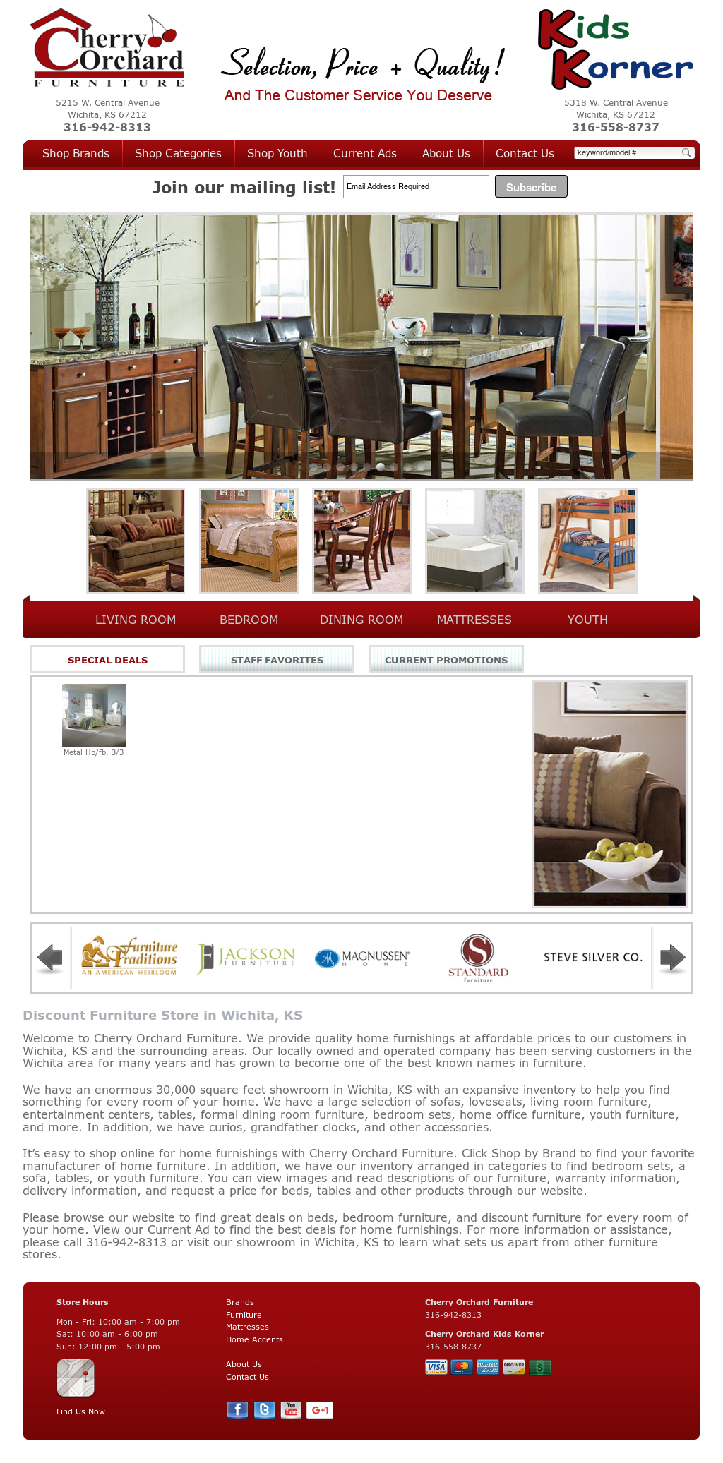 Cherry Orchard Furniture Compeors Revenue And Employees Owler Company Profile