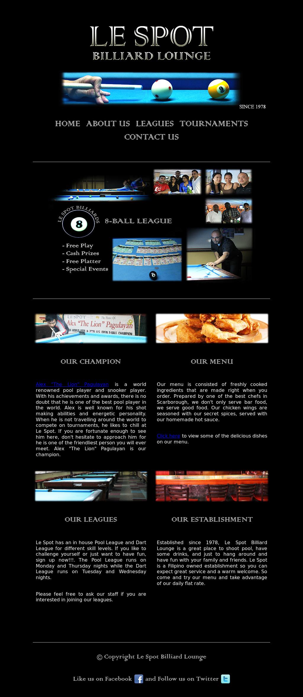 Le Spot Billiard Lounge Competitors, Revenue and Employees