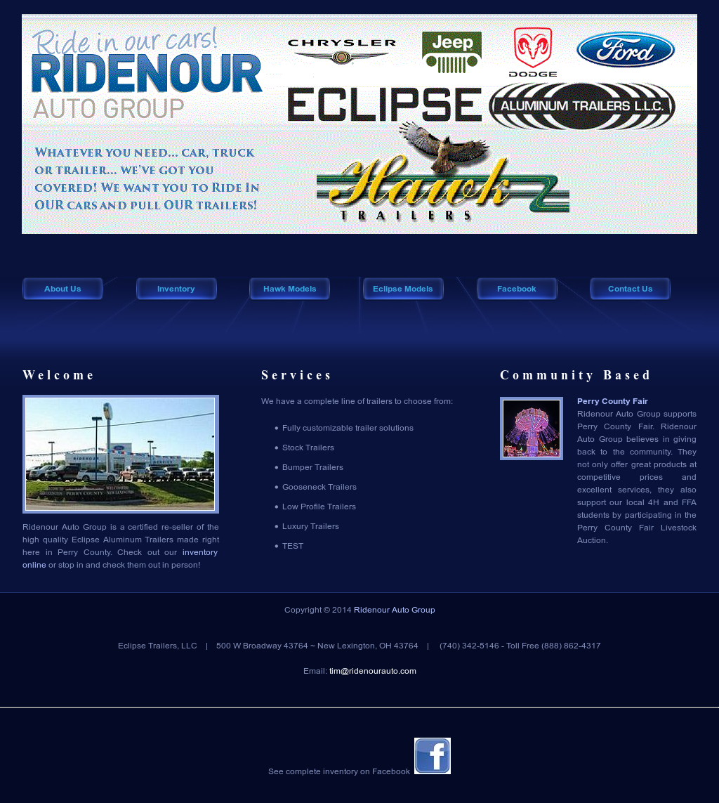Ridenour Auto Group >> Ridenour Auto Group Horse Trailer Sales Competitors Revenue And