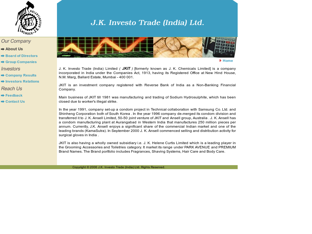 J k  Investo Trade Competitors, Revenue and Employees - Owler