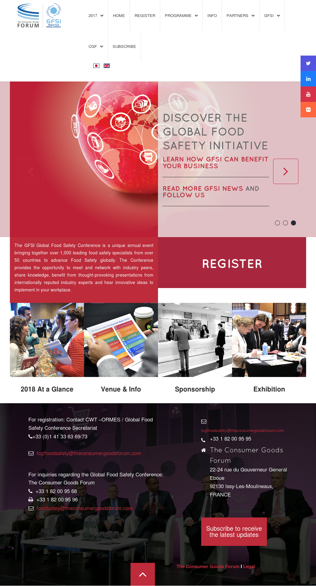 GFSI Global Food Safety Competitors, Revenue and Employees