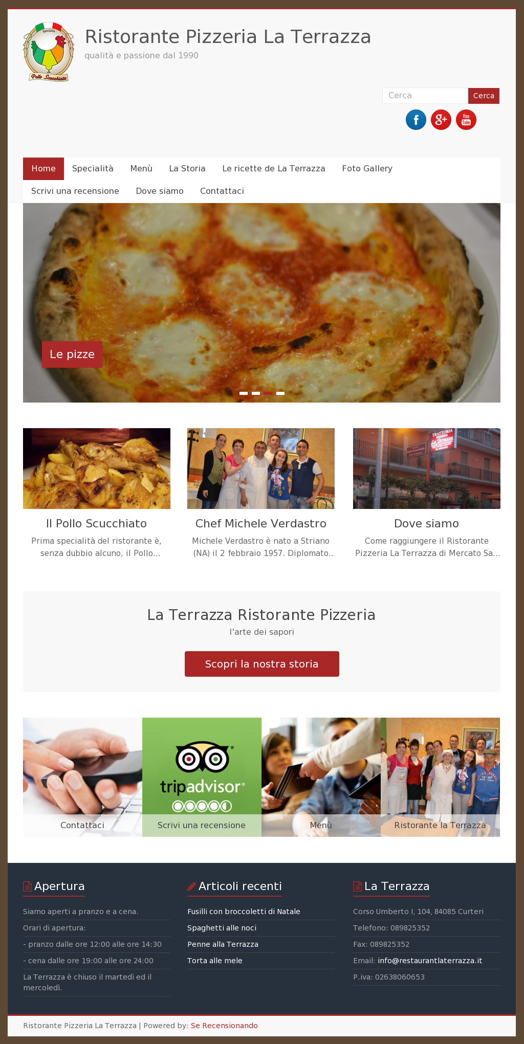 La Terrazza Ristorante Pizzeria Competitors Revenue And