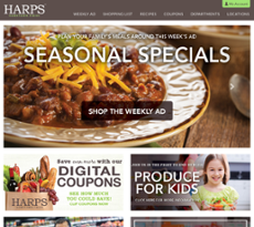 Harp's Food Stores Competitors, Revenue and Employees