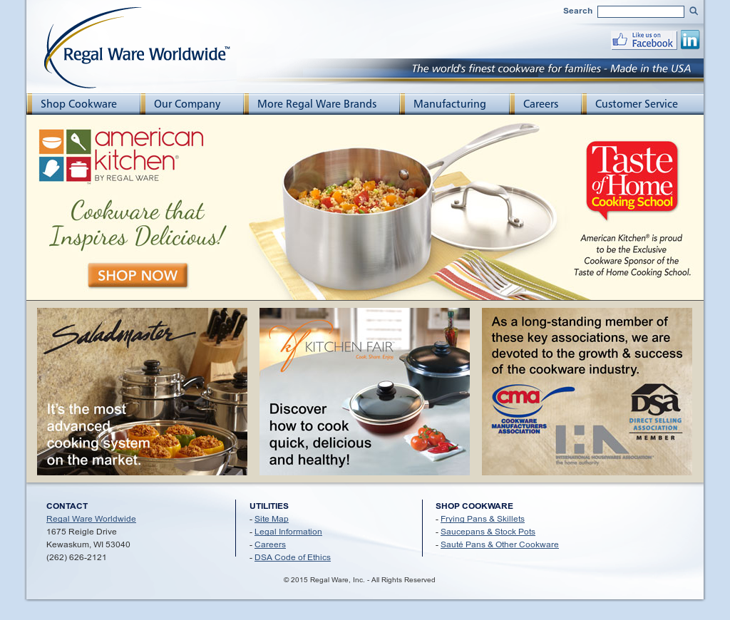 Regal Ware Competitors, Revenue and Employees - Owler Company Profile