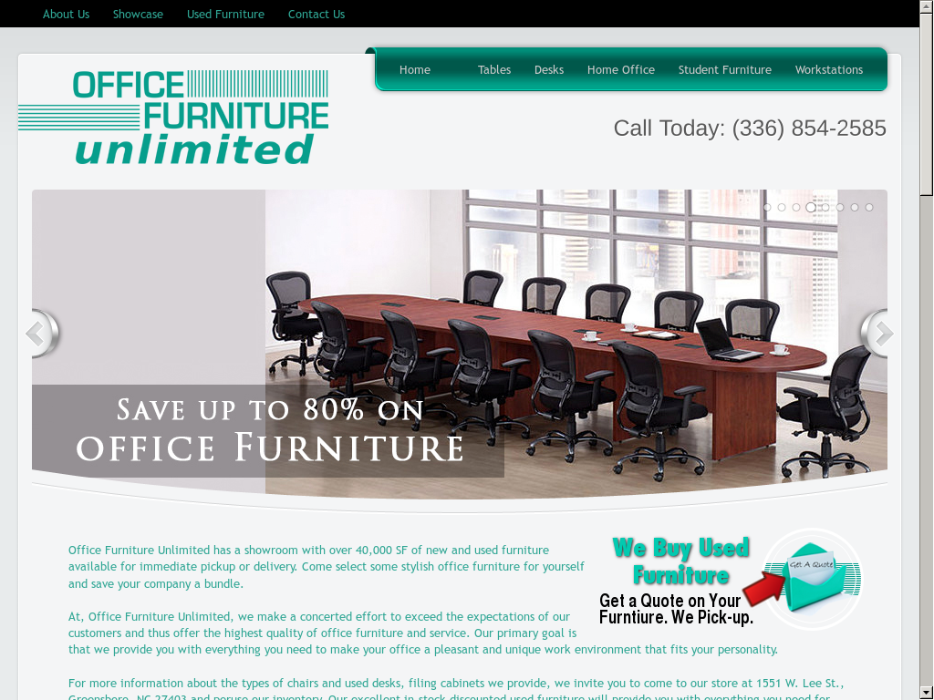 Captivating Office Furniture Unlimited Website History