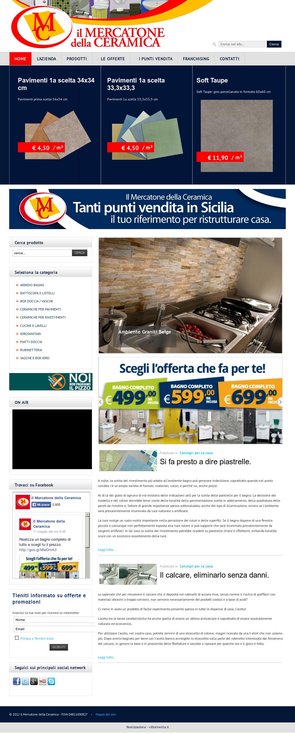 Il Mercatone Della Ceramica.Il Mercatone Della Ceramica Competitors Revenue And