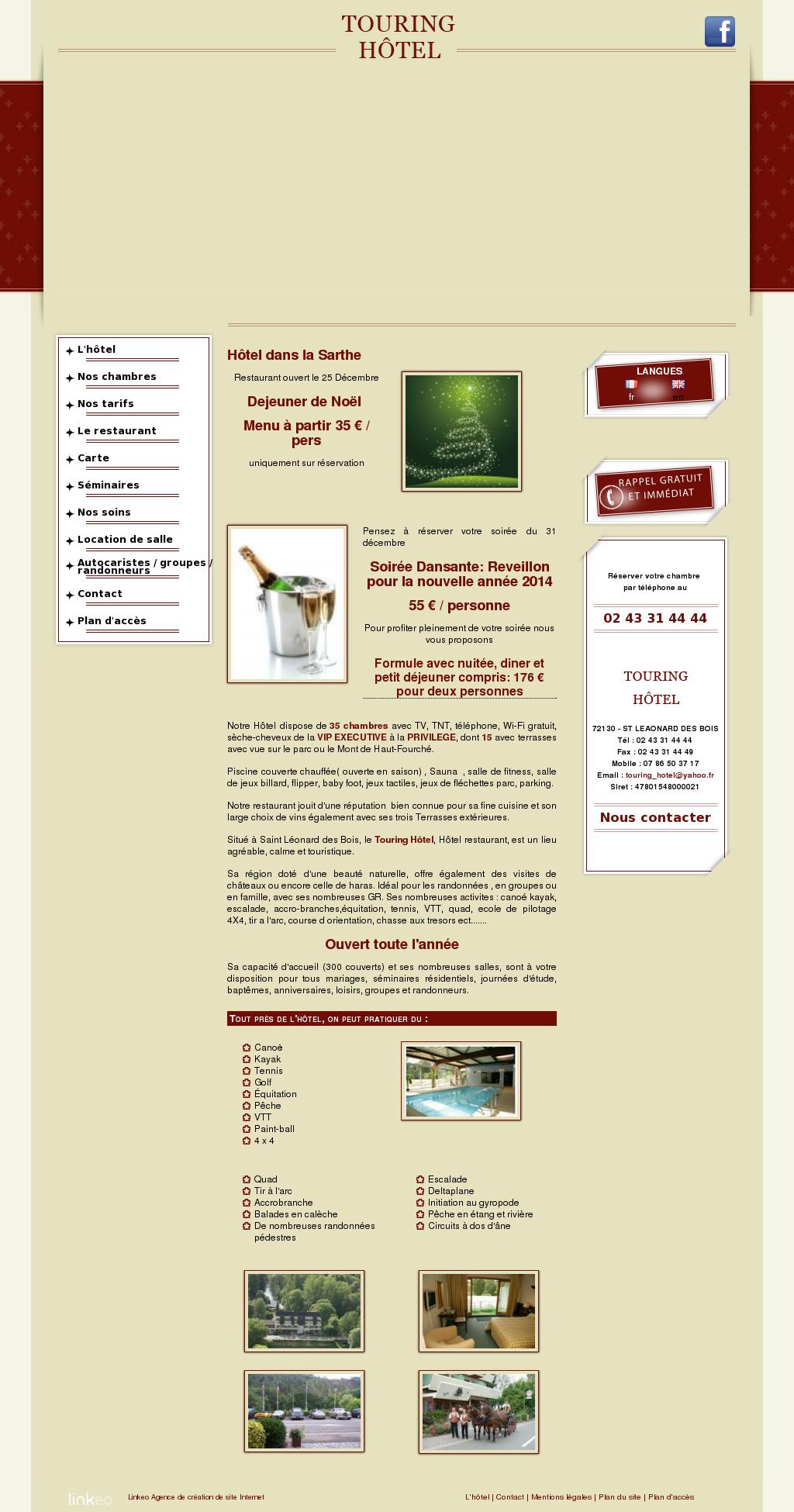 Carte De Noel Yahoo.Hoteltouring Sarthe Competitors Revenue And Employees