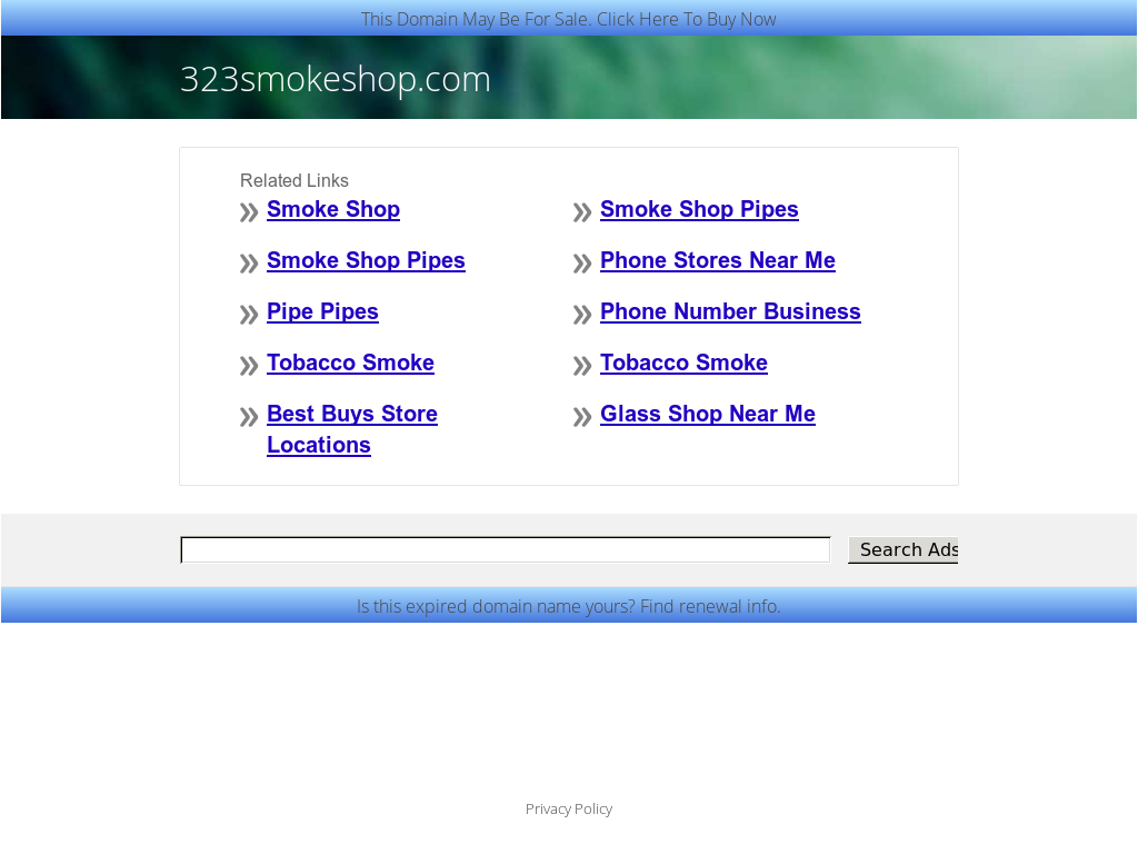323 Smoke Shop Competitors, Revenue and Employees - Owler