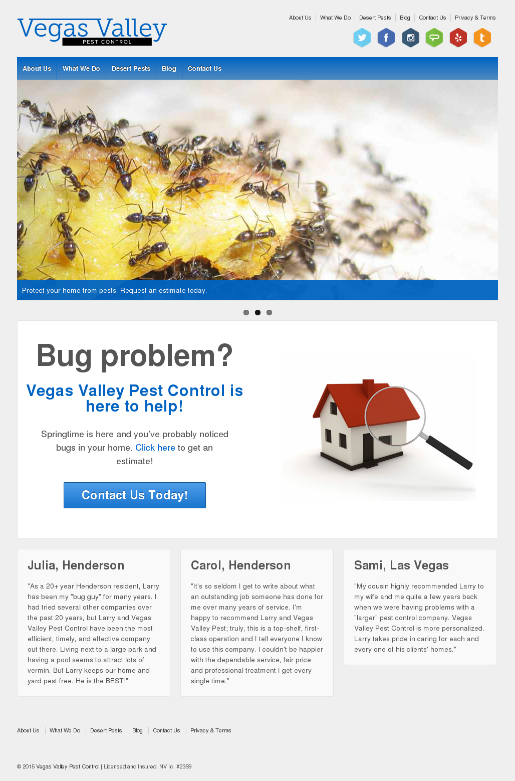 Vegas Valley Pest Control Competitors, Revenue and Employees - Owler