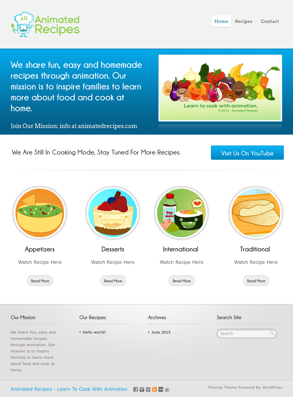 Animated Recipes Competitors, Revenue and Employees , Owler