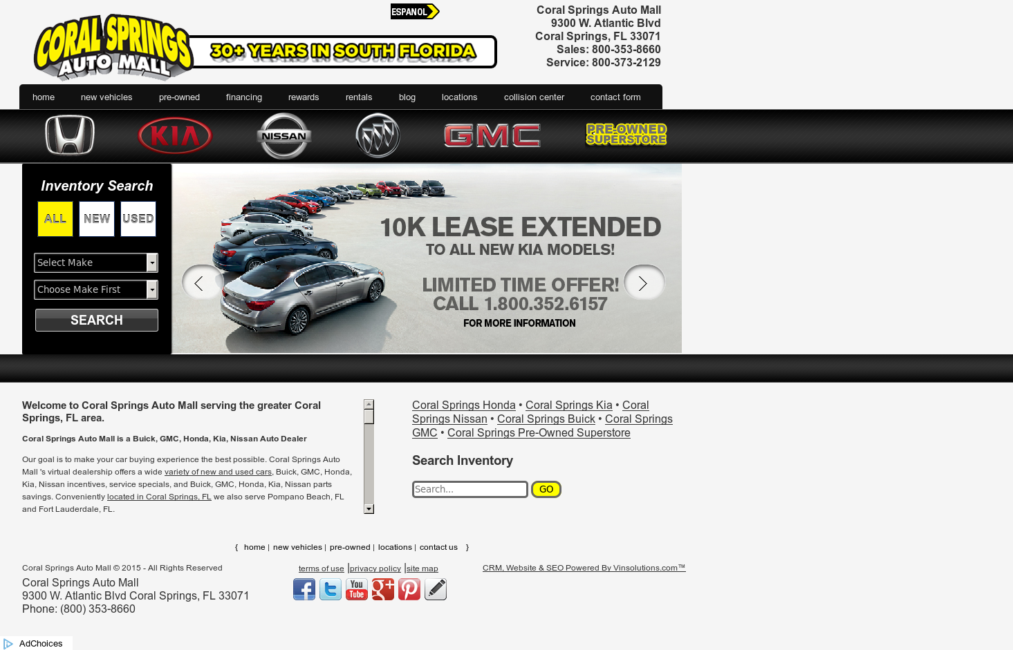 Coral Springs Auto Mall >> Coral Springs Auto Mall Competitors Revenue And Employees
