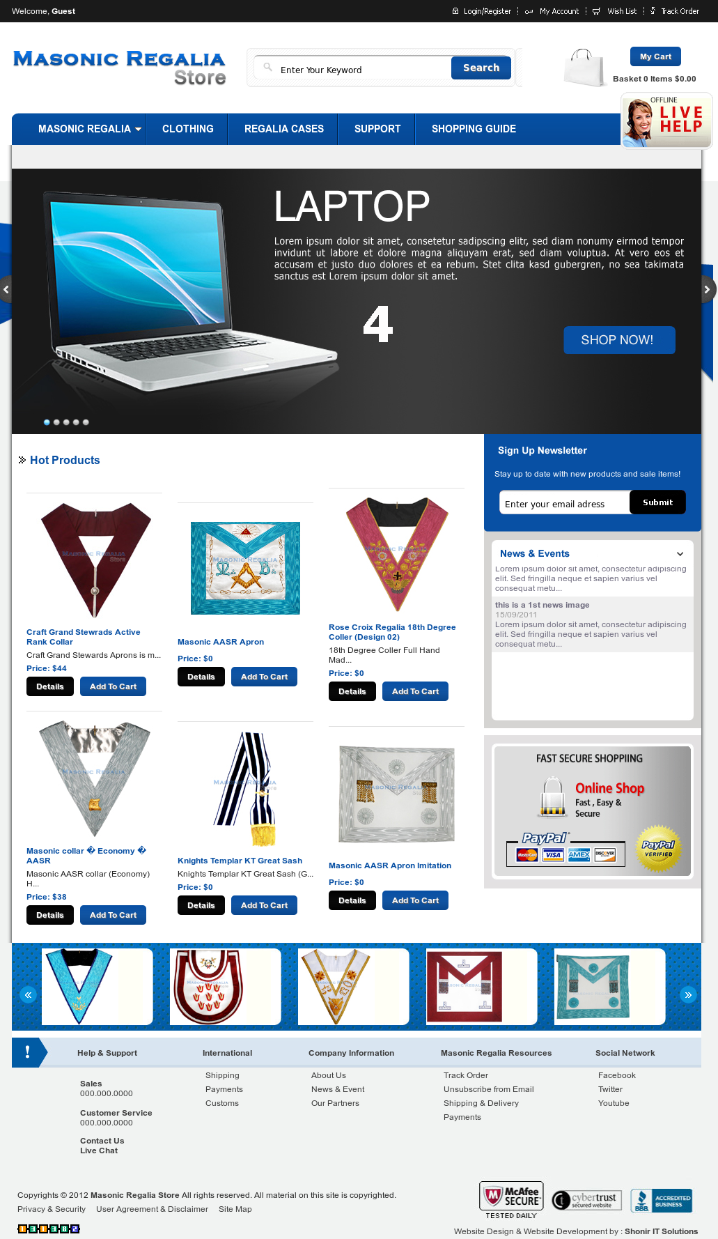 Masonic Regalia Store Competitors, Revenue and Employees