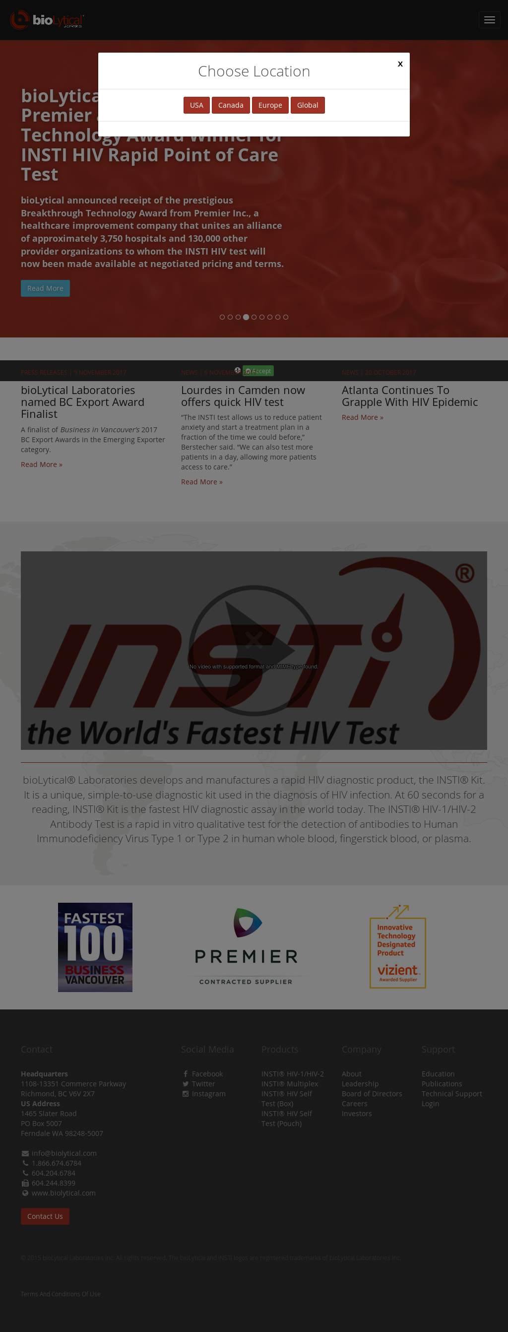 Insti 60 Second Hiv Test Competitors, Revenue and Employees - Owler