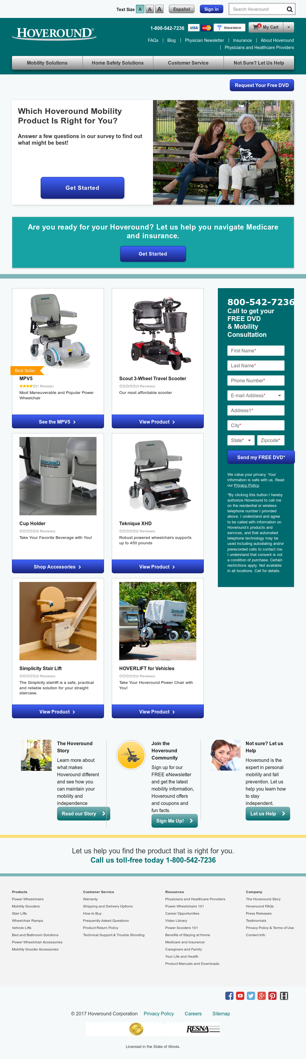 Hoveround Competitors Revenue And Employees Owler Company Profile