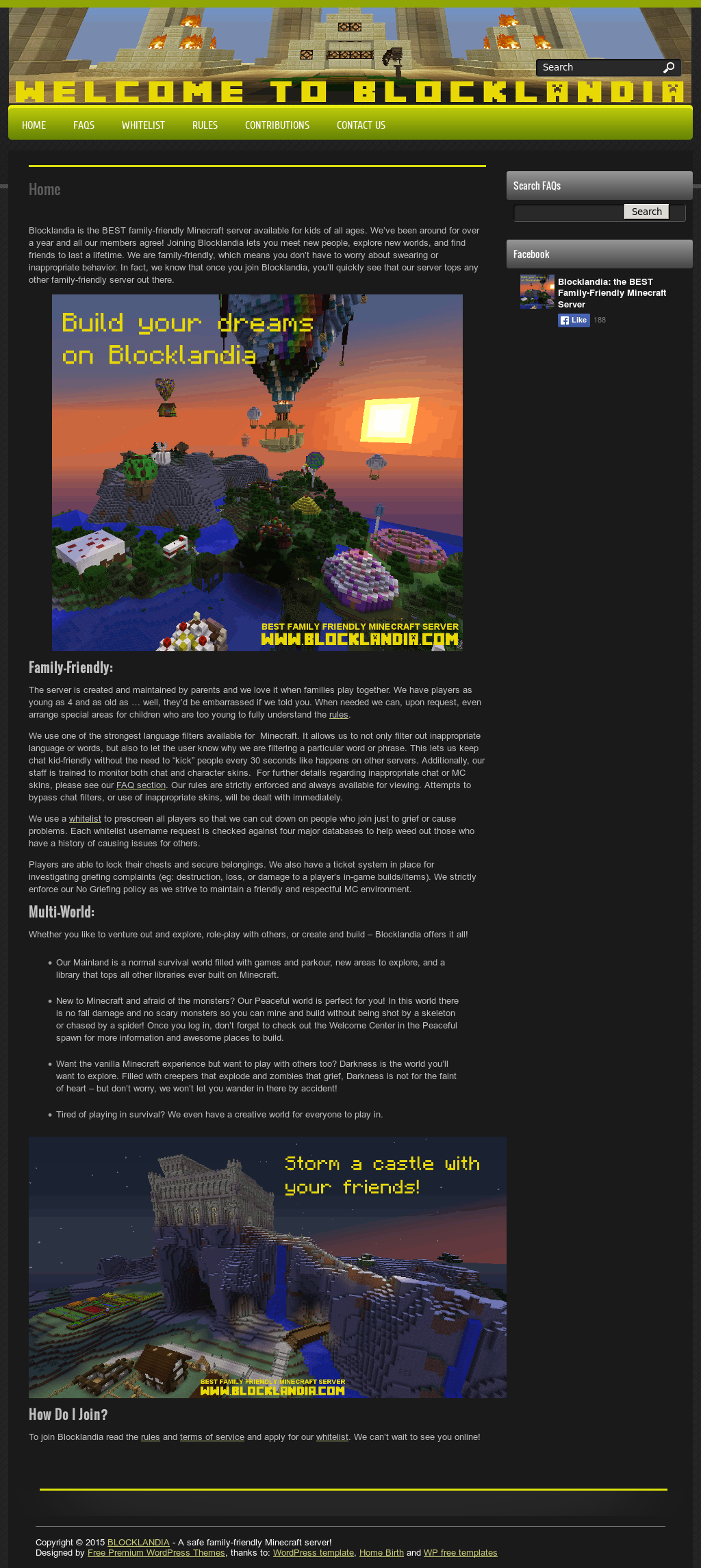 Blocklandia The Best Family Friendly Minecraft Server Competitors Revenue And Employees