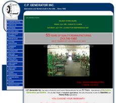 C.P. Generator website history