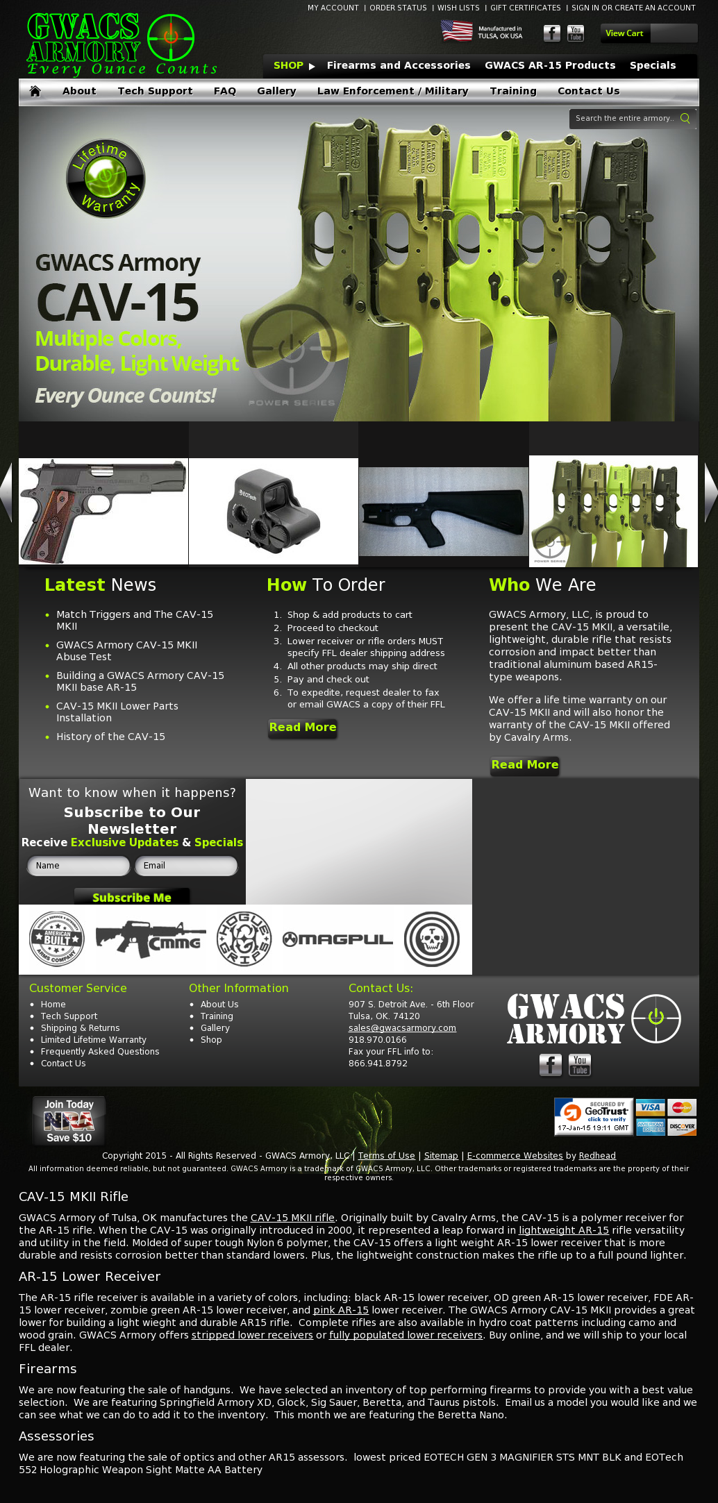Gwacs Armory Competitors, Revenue and Employees - Owler