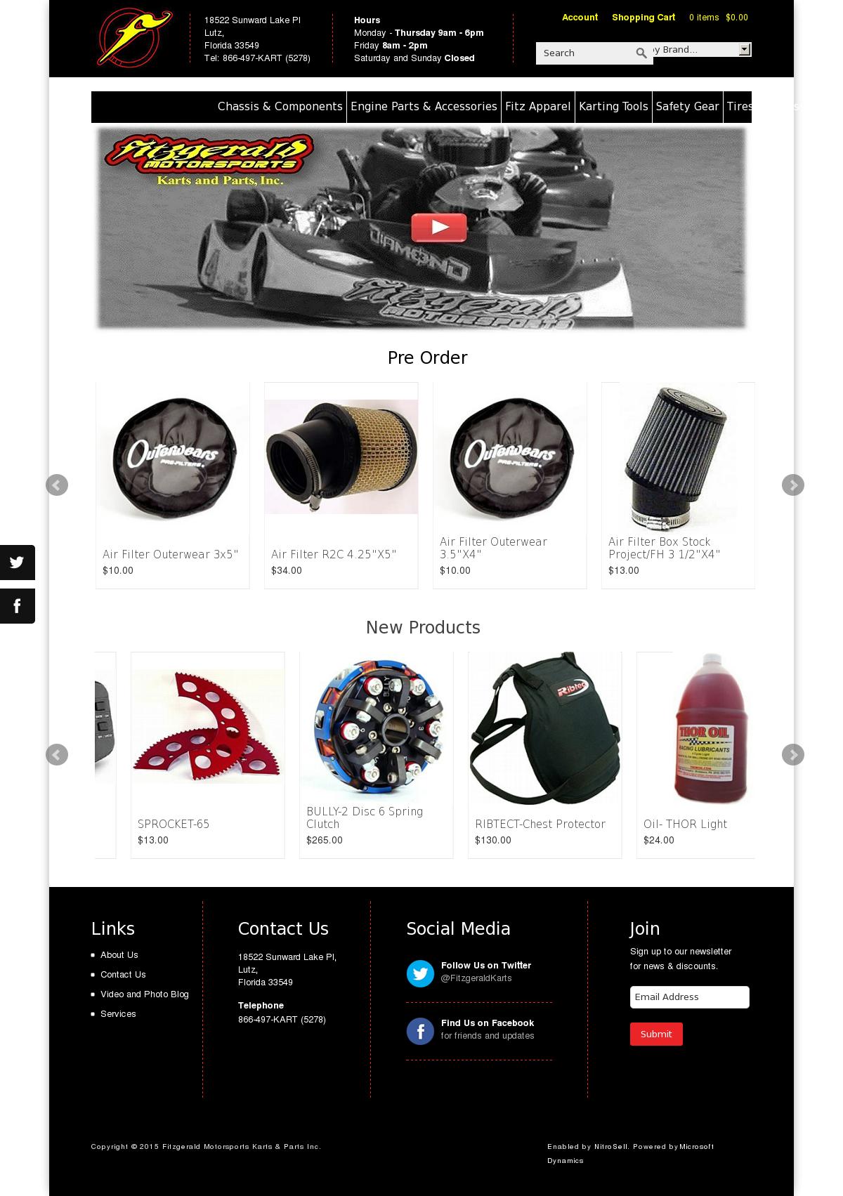 Fitzgerald Motorsports Karts & Parts petitors Revenue and
