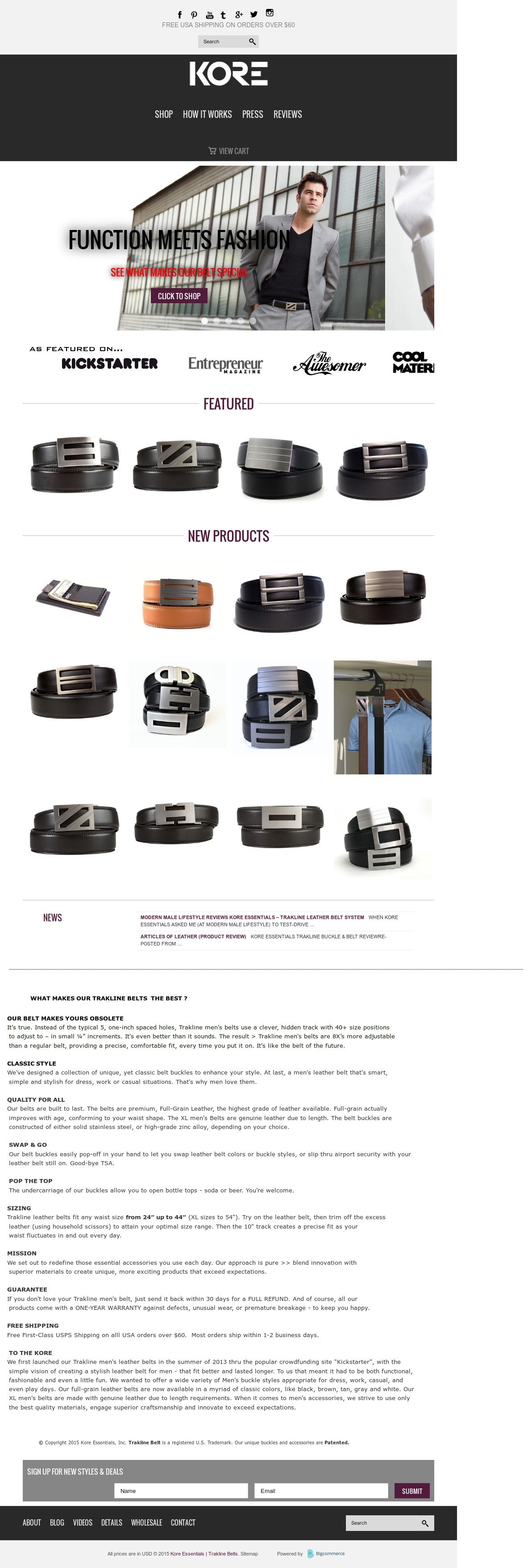 Kore Essentials S Competitors Revenue Number Of Employees Funding Acquisitions News Owler Company Profile Available in full grain & top grain shop kore men's ratchet belts now and save! kore essentials s competitors revenue