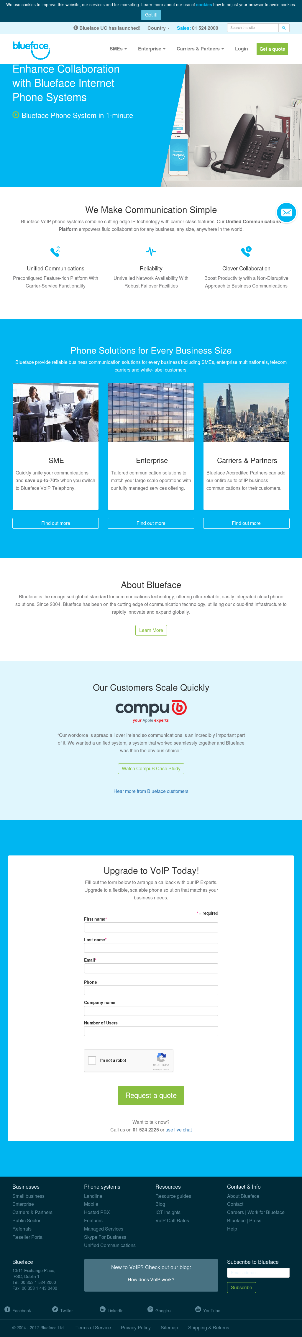 Blueface Competitors, Revenue and Employees - Owler Company