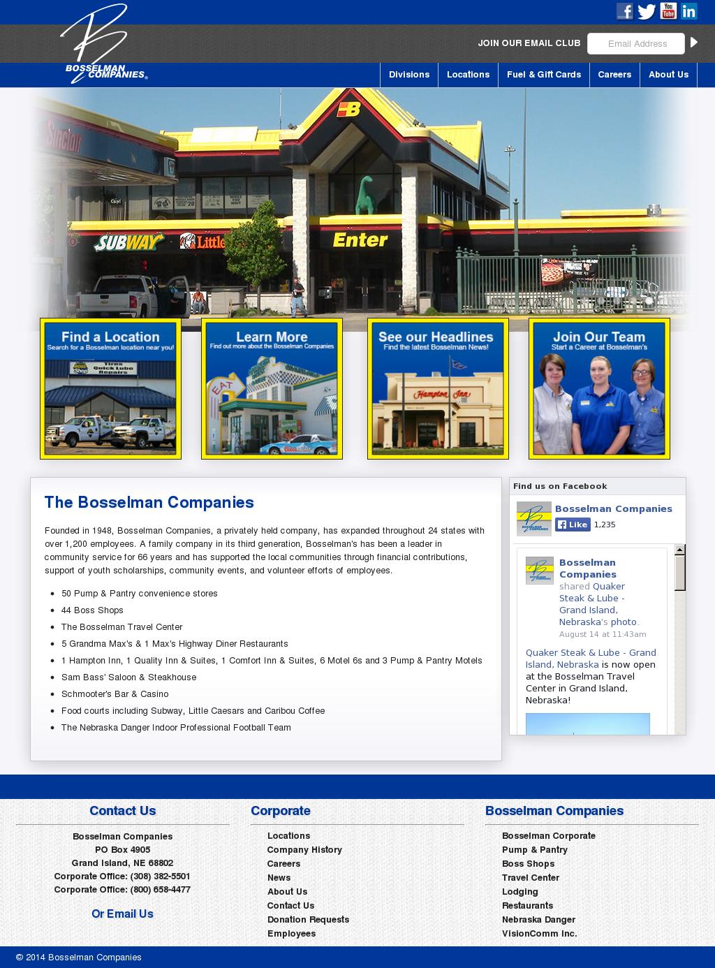 Bosselman Competitors Revenue And Employees Owler Company Profile