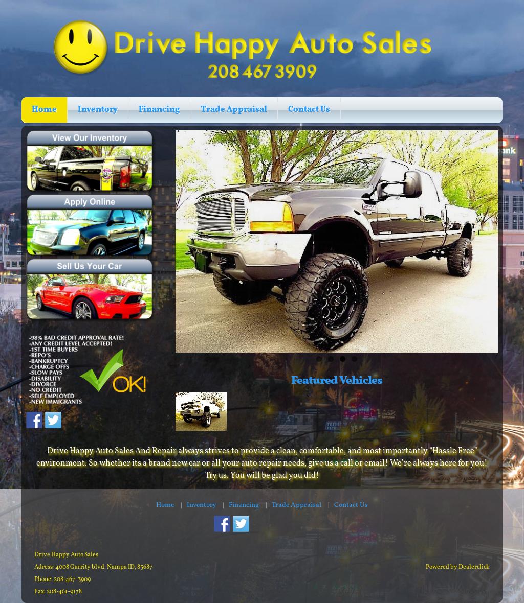 Happy Auto Sales >> Drive Happy Auto Sales In Nampa Competitors Revenue And