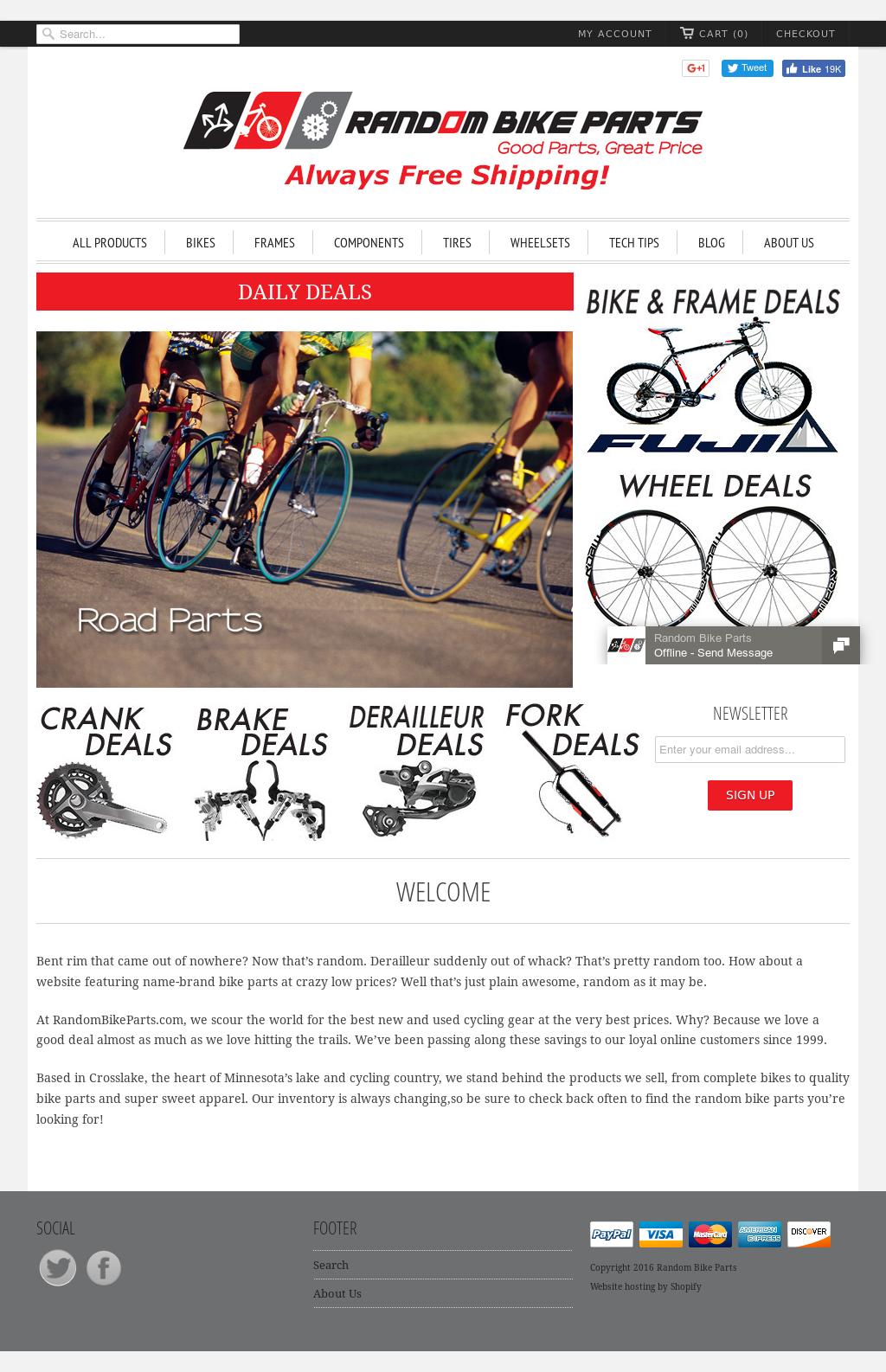 Random Bike Parts Competitors, Revenue and Employees - Owler