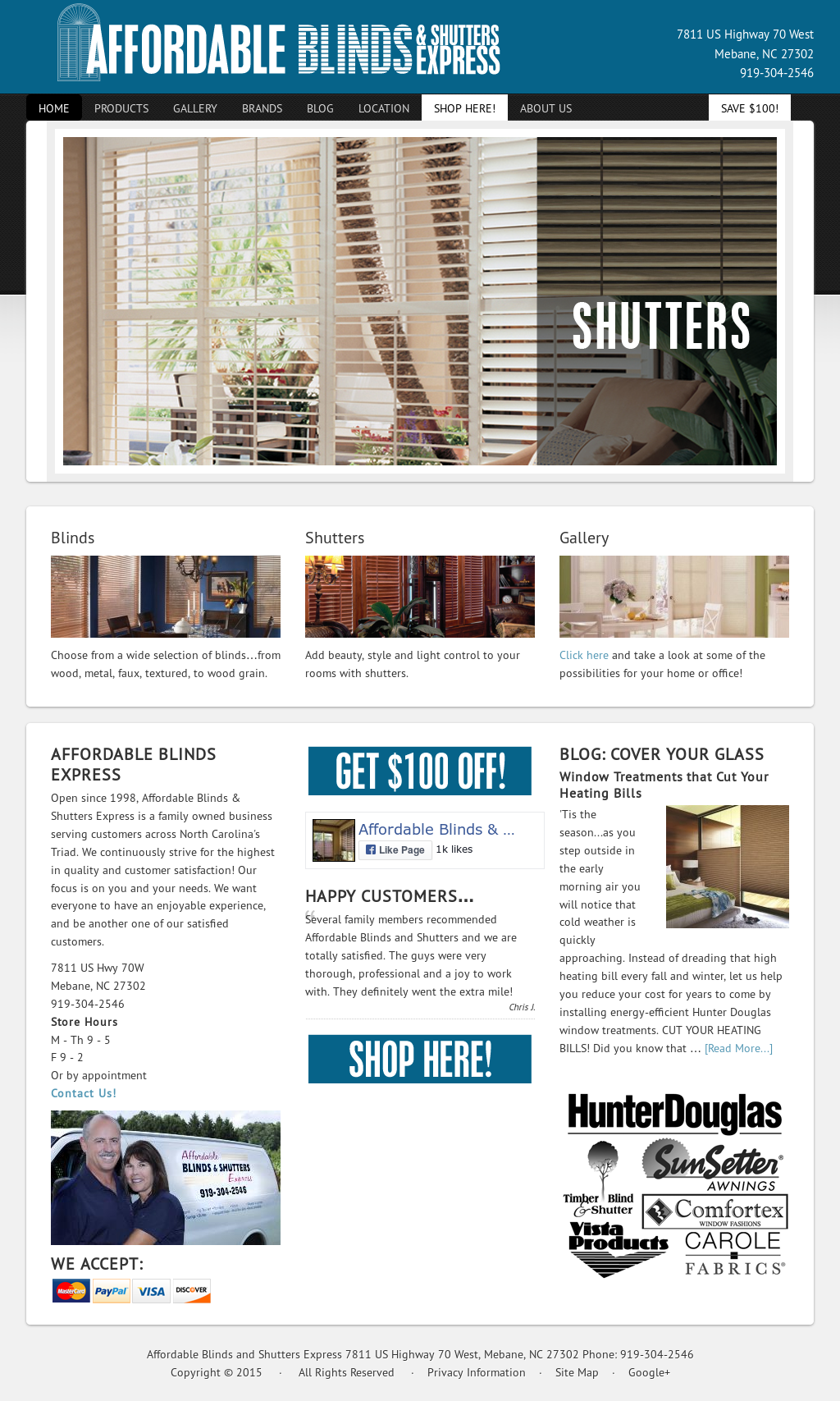 Affordable Blinds And Shutters Express Competitors Revenue And