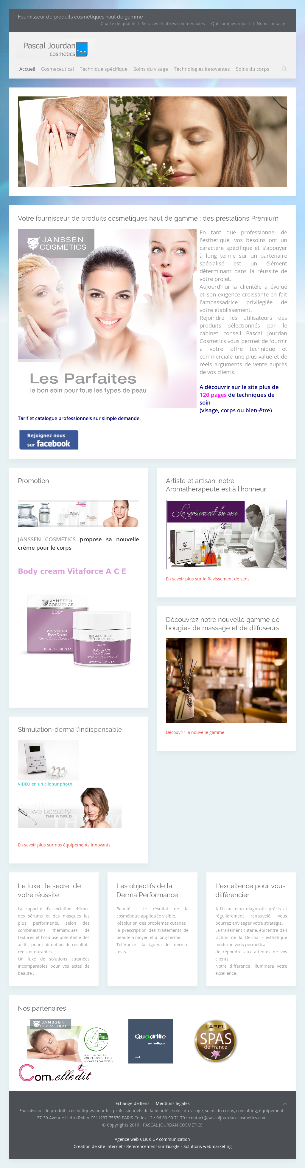 Pascal Jourdan Cosmetics Competitors, Revenue and Employees