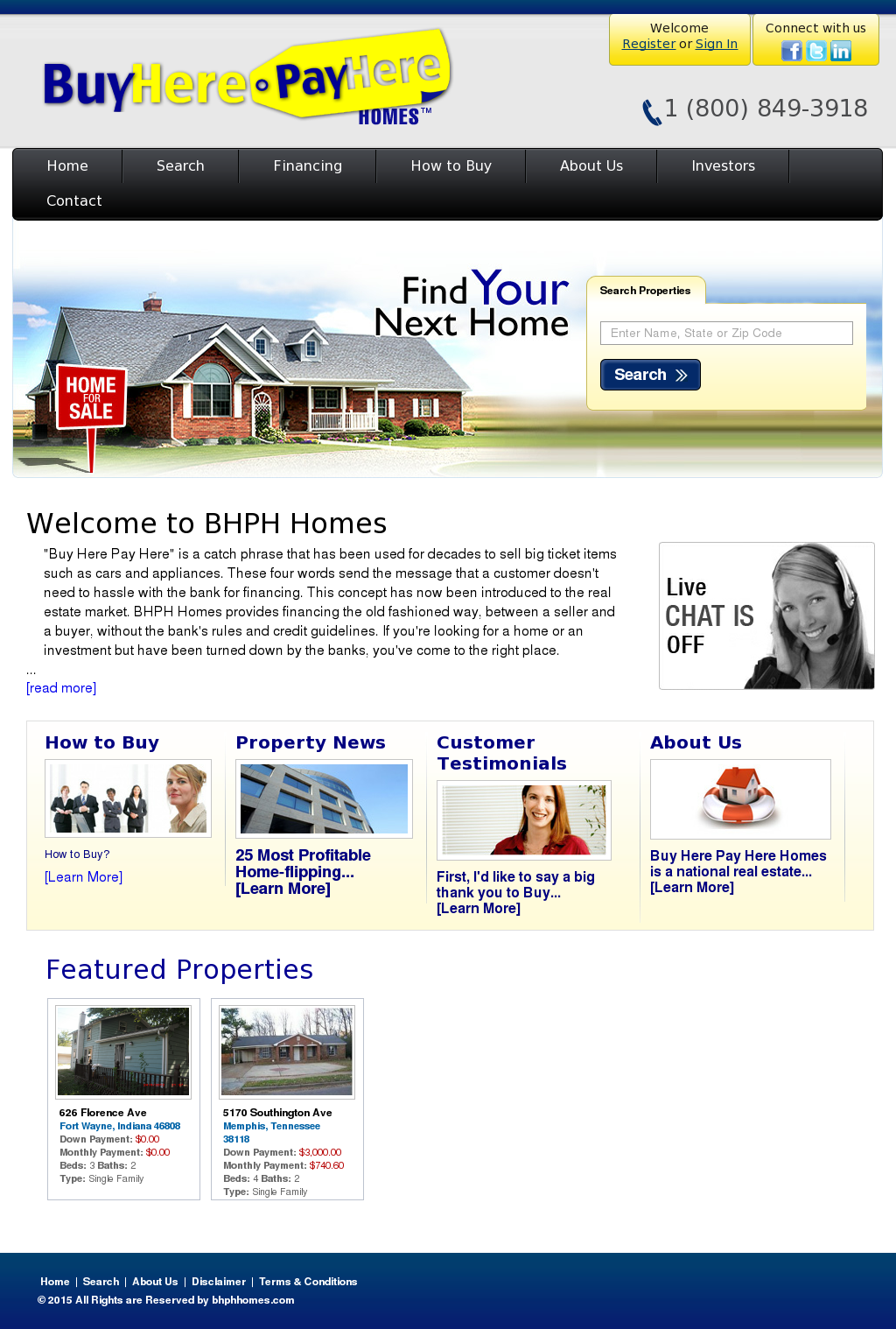 Buy Here Pay Here Fort Wayne >> Buy Here Pay Here Homes Competitors Revenue And Employees