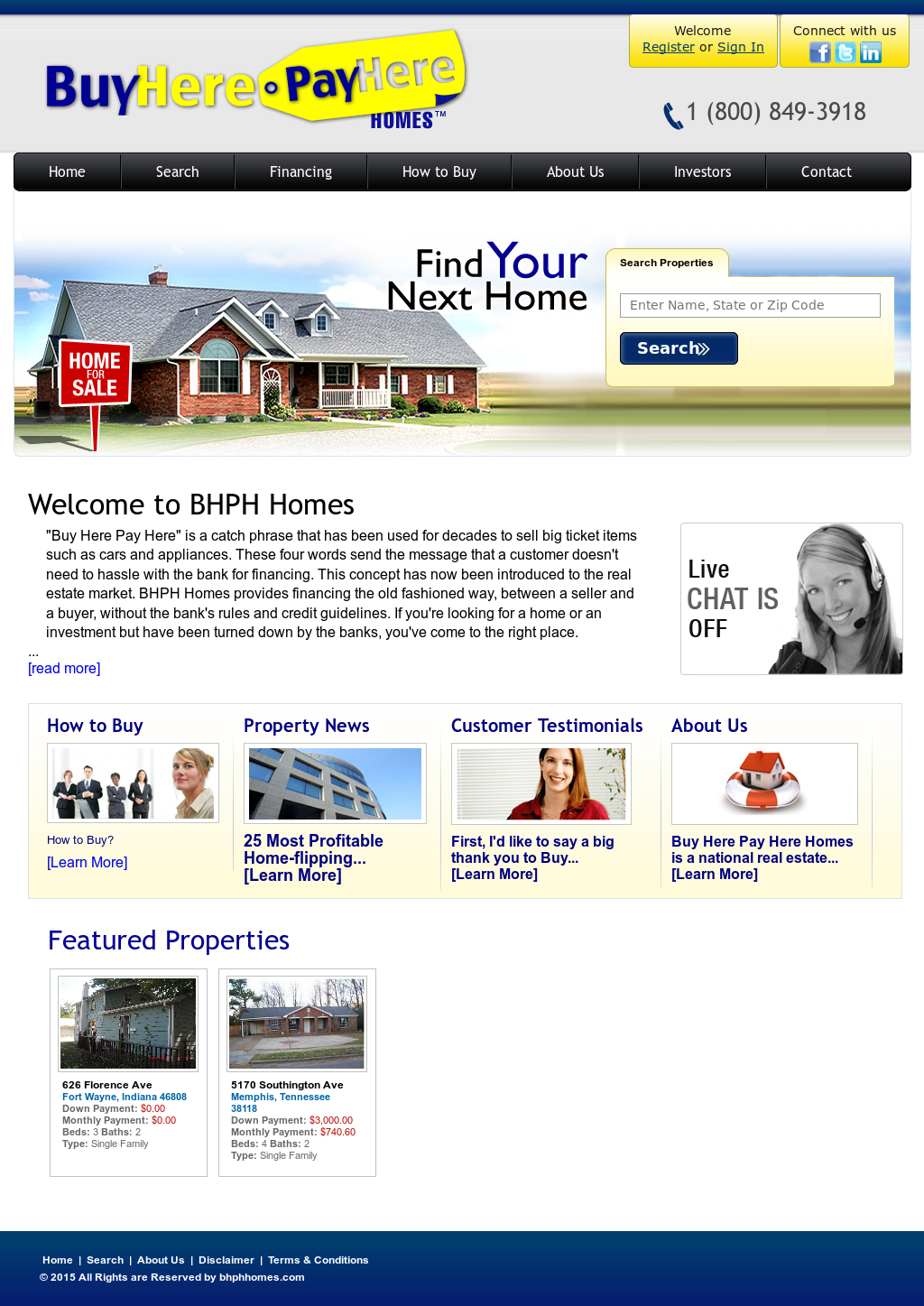 Buy Here Pay Here Indiana >> Buy Here Pay Here Homes Competitors Revenue And Employees