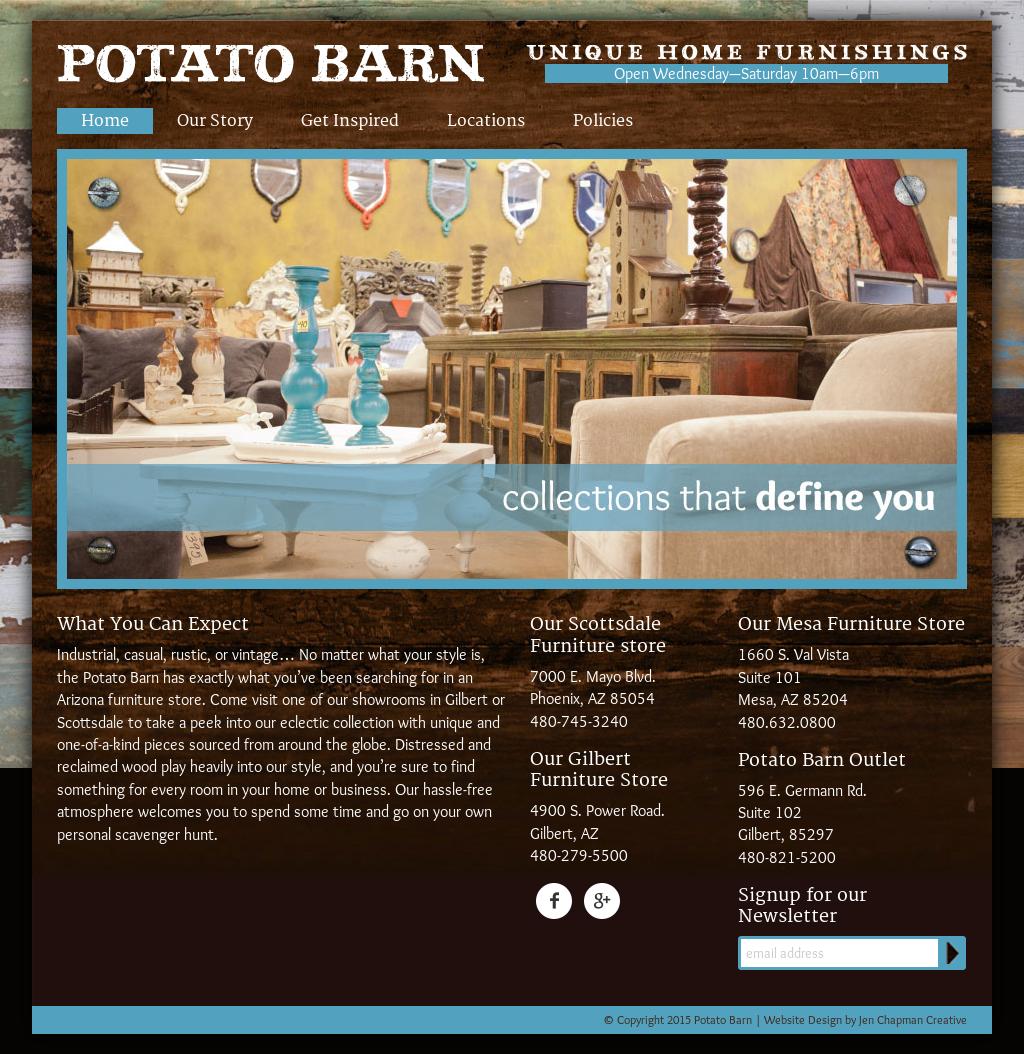 Potato Barn Unique Home Furnishings Competitors Revenue And