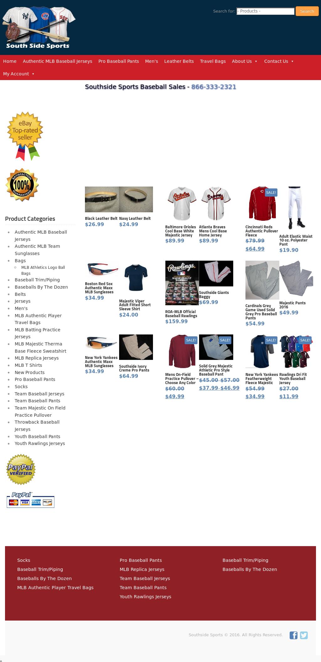 02b8b1265 Baseball Sales - South Side Sports Competitors